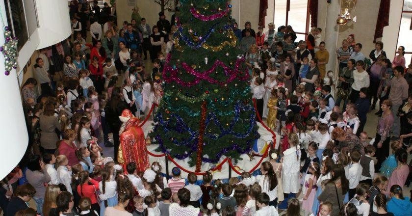 елка в епархии
