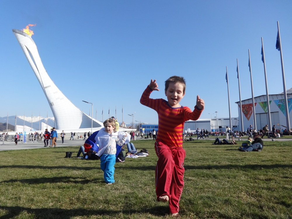дети на олимпиаде
