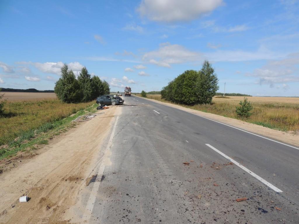 Смертельное ДТП в Лебяжском районе Кировской области