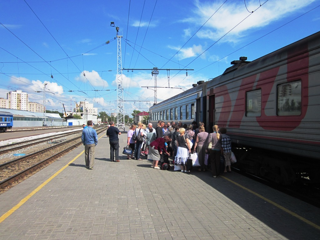 поезд пассажиры