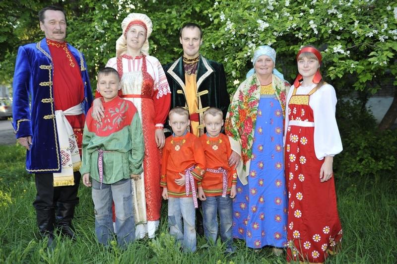 Семья Шабалиных из поселка Вахруши представит Кировскую область на окружном фестивале-конкурсе «Успешная семья Приволжья - 2015»
