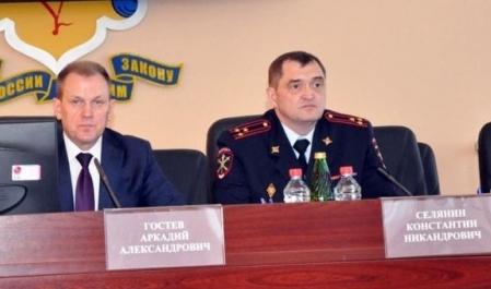 Аркадий Гостев представил нового начальника УМВД России по Кировской области