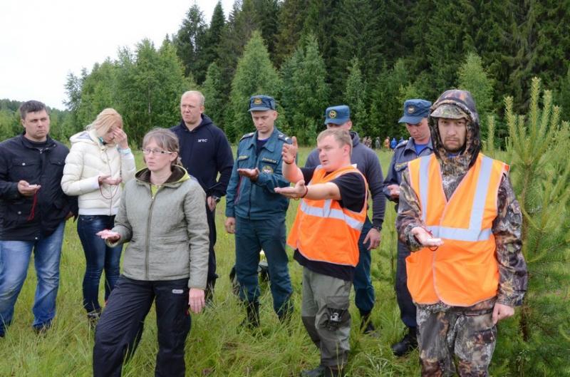 В Кировской области прошли масштабные учения по поиску людей