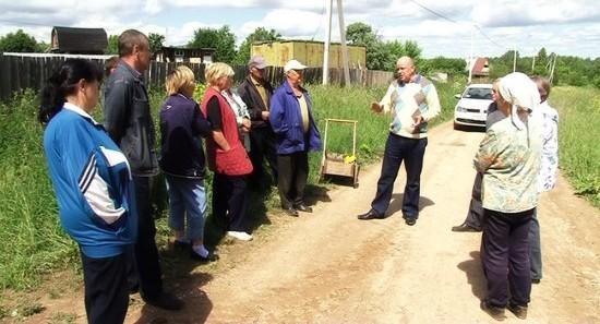 Дороги для садоводов в Кировской области
