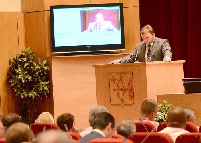 Губернатор Н.Ю.Белых выступил с ежегодным посланием Законодательному Собранию