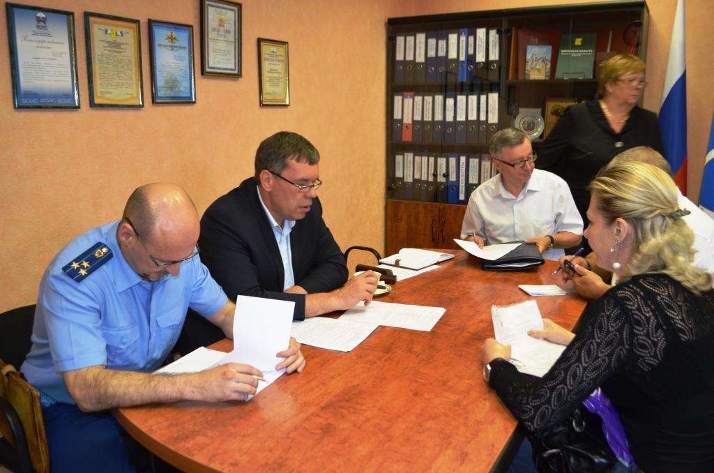 Владимир Климов посетил Юрьянский район Кировской области