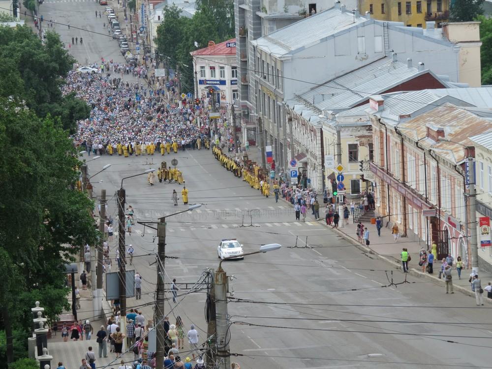 Сегодня в Кировской области начался Великорецкий крестный ход.