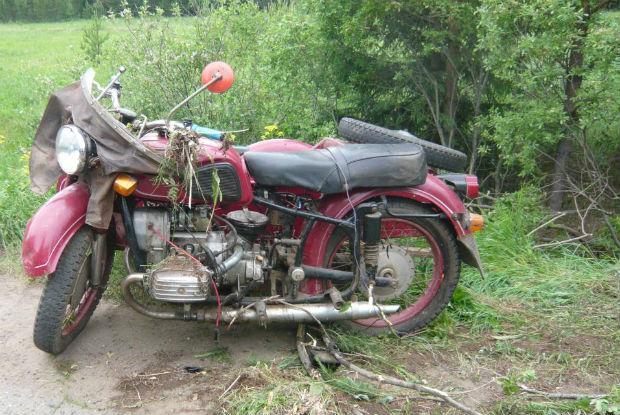 В Бошарово в Кирове разбился 47-летний мотоциклист