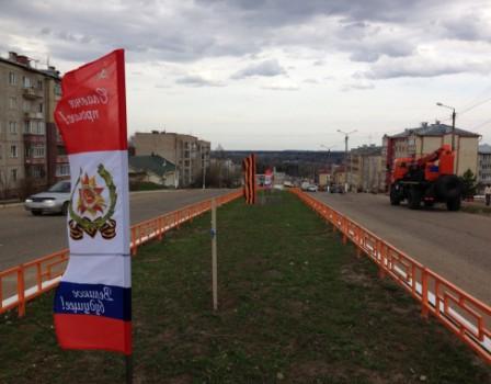 Кировские полицейские раскрыли кражу флагов в поселке Радужный