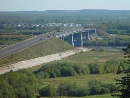 Движение на выезд из города Кирова по Новому мосту будет временно приостановлено