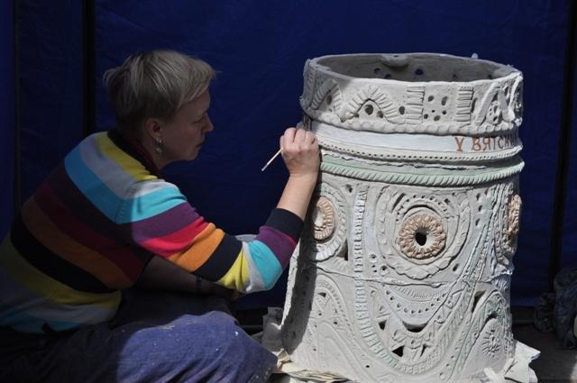 Уржум на время стал маленькой столицей живописи и керамики