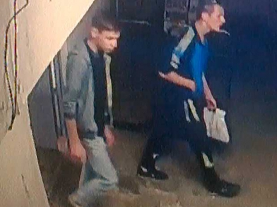 Сотрудники полиции в Кирове просят оказать содействие в установлении личности подозреваемых в краже товара с центрального рынка