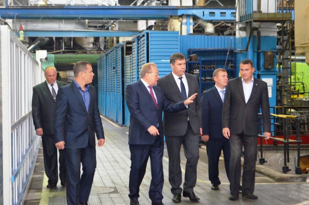 Владимир Климов посетил завод «ЛЕПСЕ»