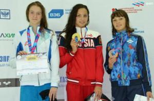 Юная кировчанка стала бронзовым призером Первенства России по плаванию