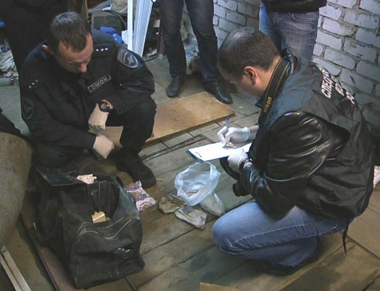 В Кирове нашли очередной тайник с оружием «прокоповских»