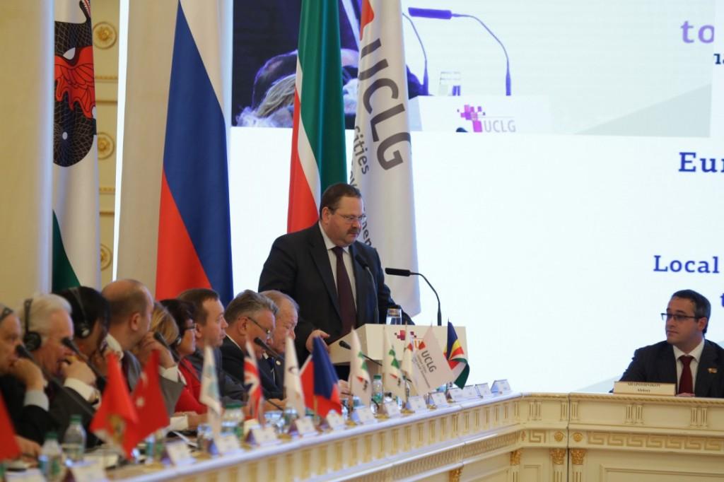 Конгресс местных властей Евразии объединил представителей более 100 городов России, стран СНГ и Монголии