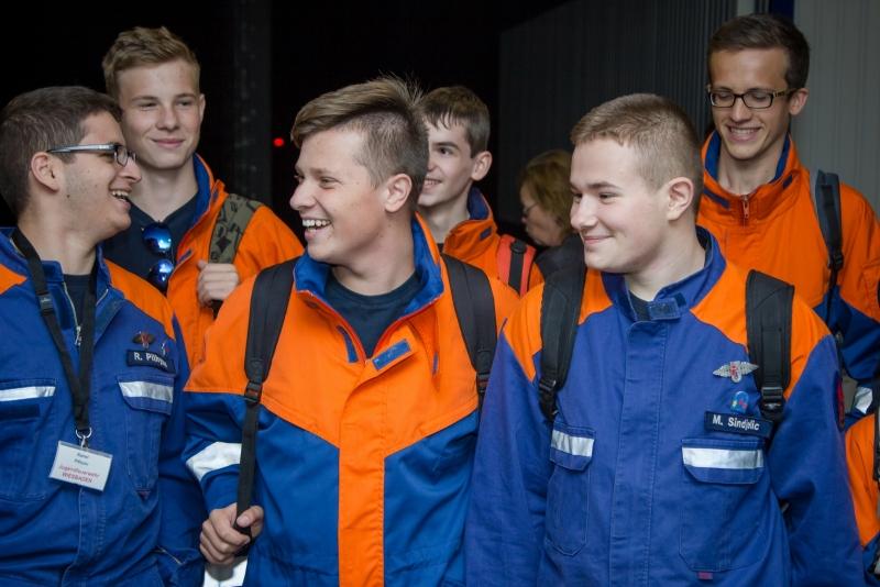 В Киров прибыла делегация добровольных пожарных из Германии
