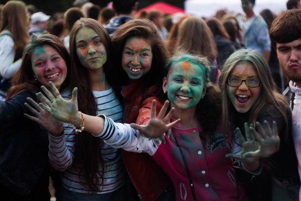 Фестиваль красок в Кирове 16 августа