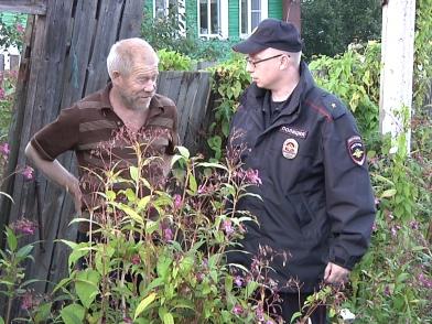 «Сельский патруль» вновь прошел по деревенским улицам