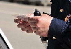 Пьяный кировчанин попался на езде с фальшивыми правами