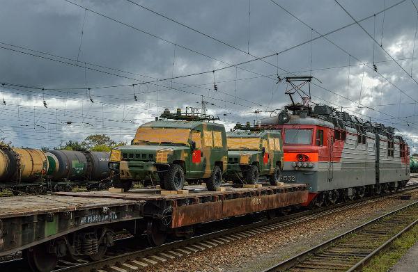 Через Кировскую область прошла китайская военная техника