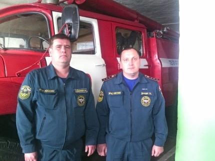 Огнеборцы в Кировской облсти спасли из огня пожилого человека