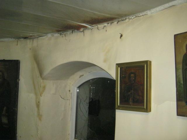 В Унинском районе произошёл пожар в кладбищенской часовне