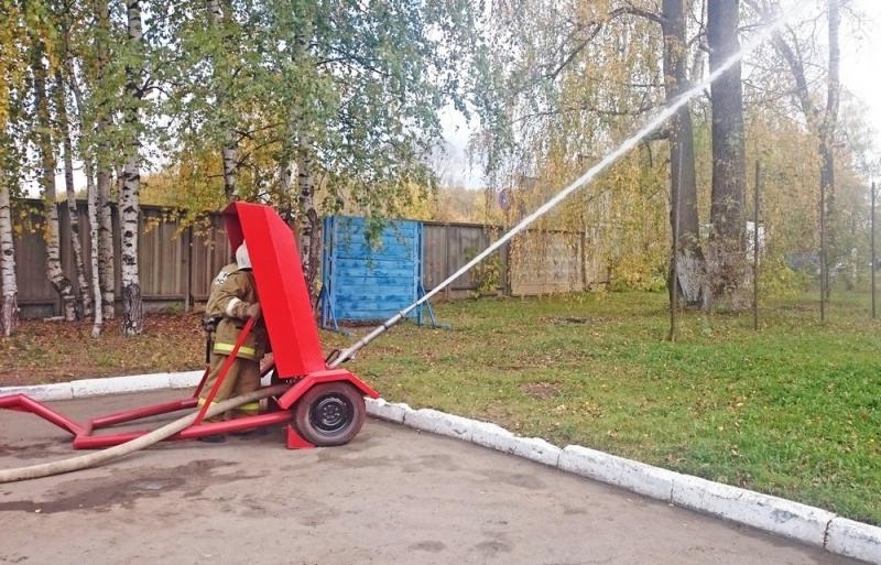 В Кирове изготовили пушку для тушения огня