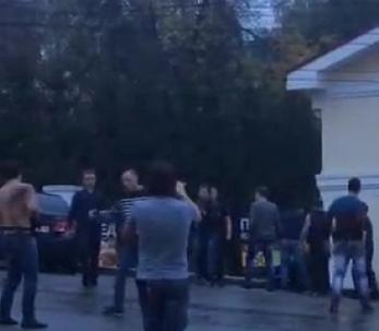 В центре Кирова произошла массовая драка
