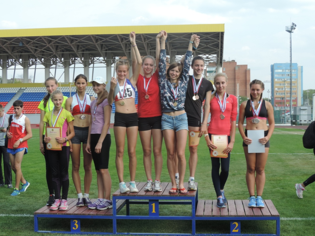 Юные кировчане успешно выступили на первенстве России по легкой атлетике