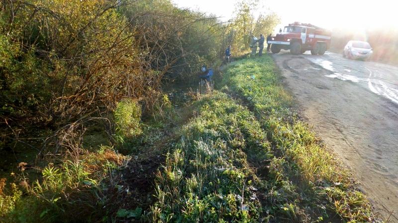 В Куменском районе Кировской области сотрудник МЧС спас пассажира утонувшей «девятки»