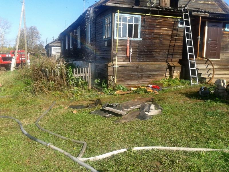 Пожарные вынесли 5-летнего ребёнка из задымлённой квартиры