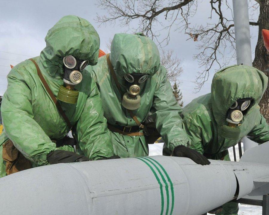 Все запасы химоружия уничтожили еще на одном российском арсенале