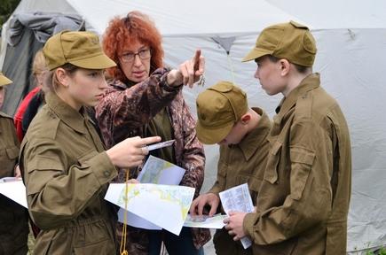 Кикнурская команда готовится к окружному этапу «Зарницы Поволжья»