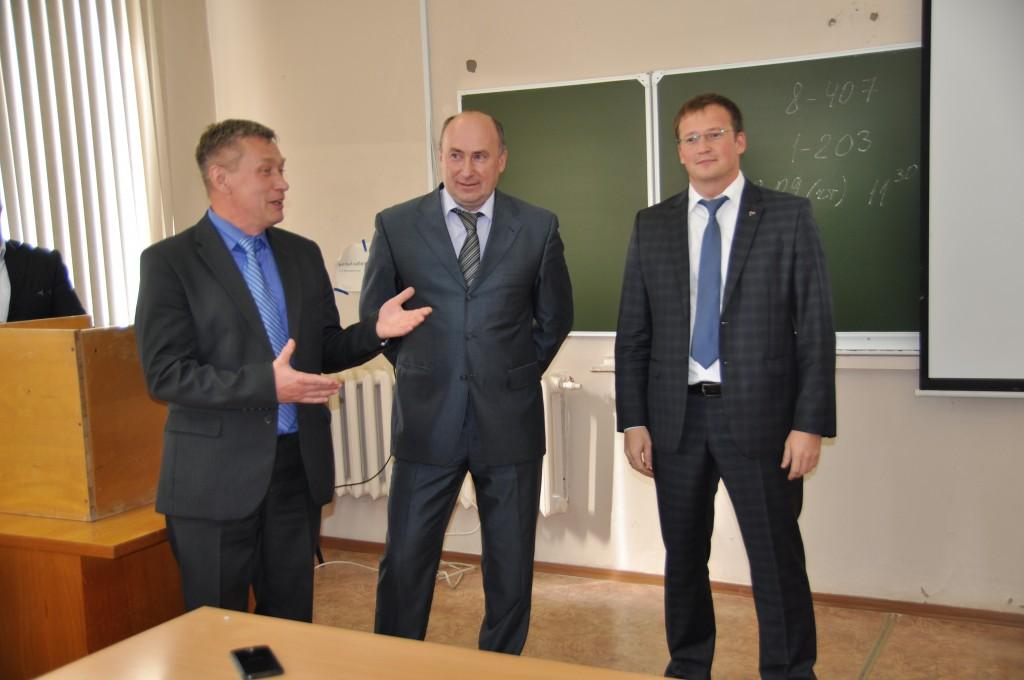 Руководители кировских энергокомпаний провели открытую лекцию для студентов ВятГУ