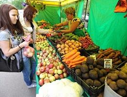 Горожане приглашаются за свежими овощами на ярмарку у Вятской филармонии