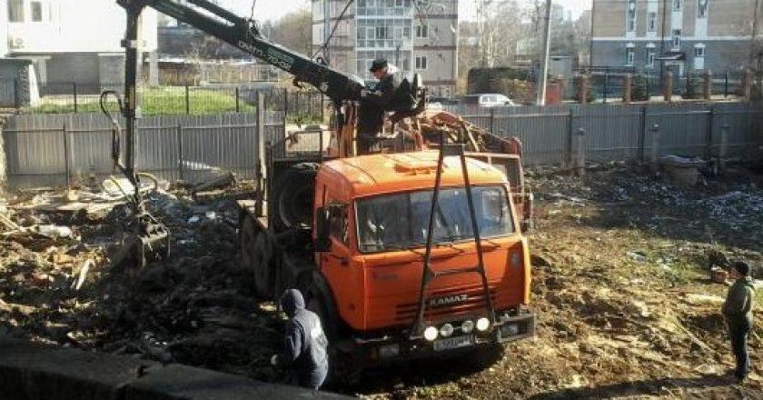 В Кирове снос мастерской художника Хохрякова возобновили