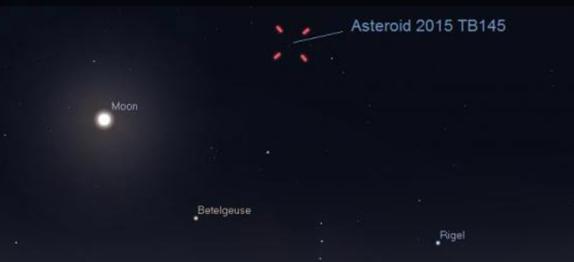 Гигантский астероид приблизится к Земле на рекордно близкое за 9 лет расстояние в Хэллоуин —