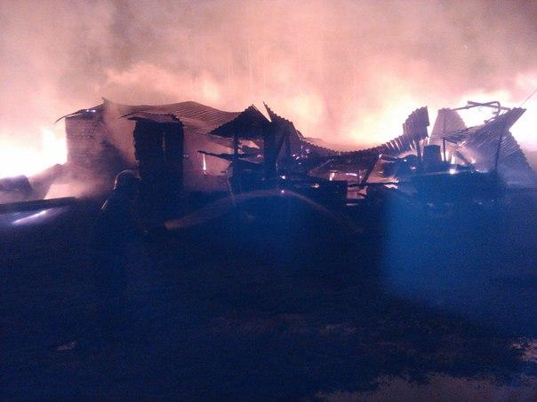 В Котельничском районе сгорела столовая детского лагеря
