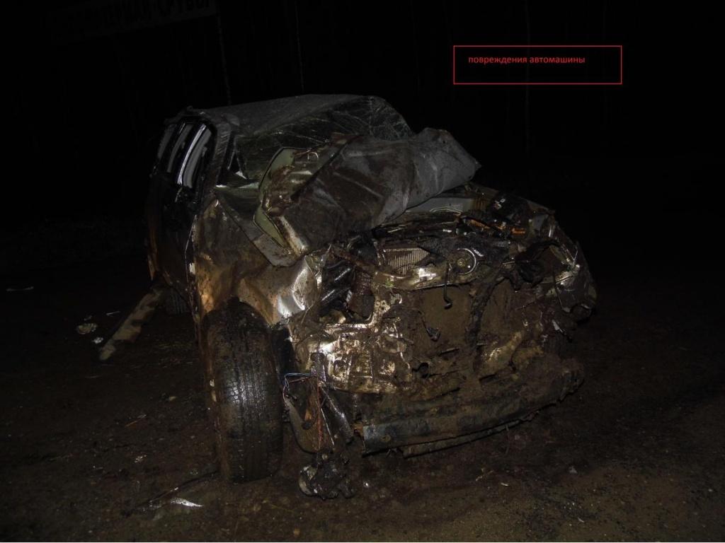 В Орловском районе иномарка улетела в кювет: водитель погиб