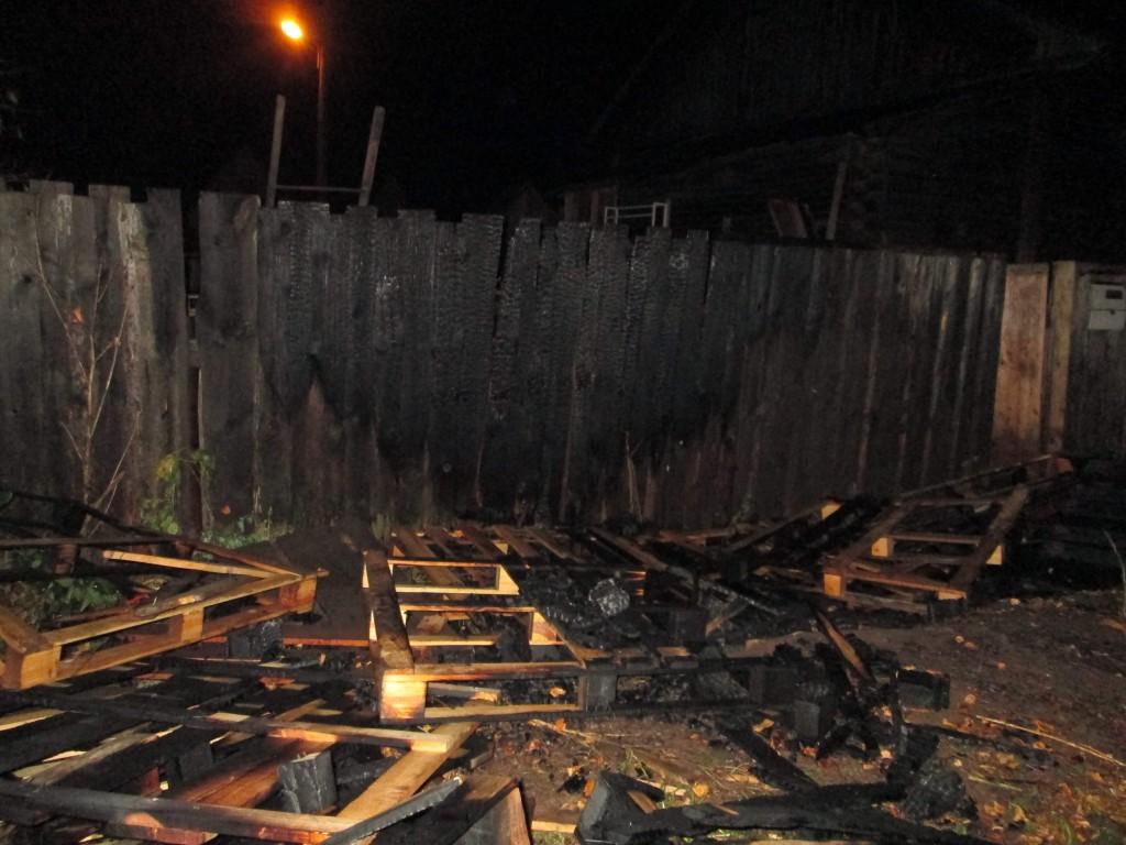 В Кирове неизвестные пытались спалить дом