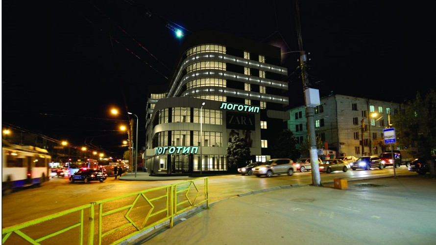 Торговый центр у филармонии назвали «Крым»