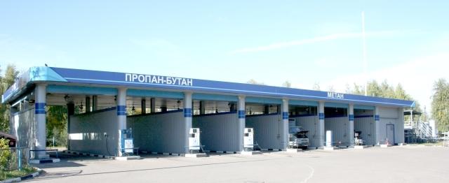 В Приволжье планируется построить семь новых газовых заправок