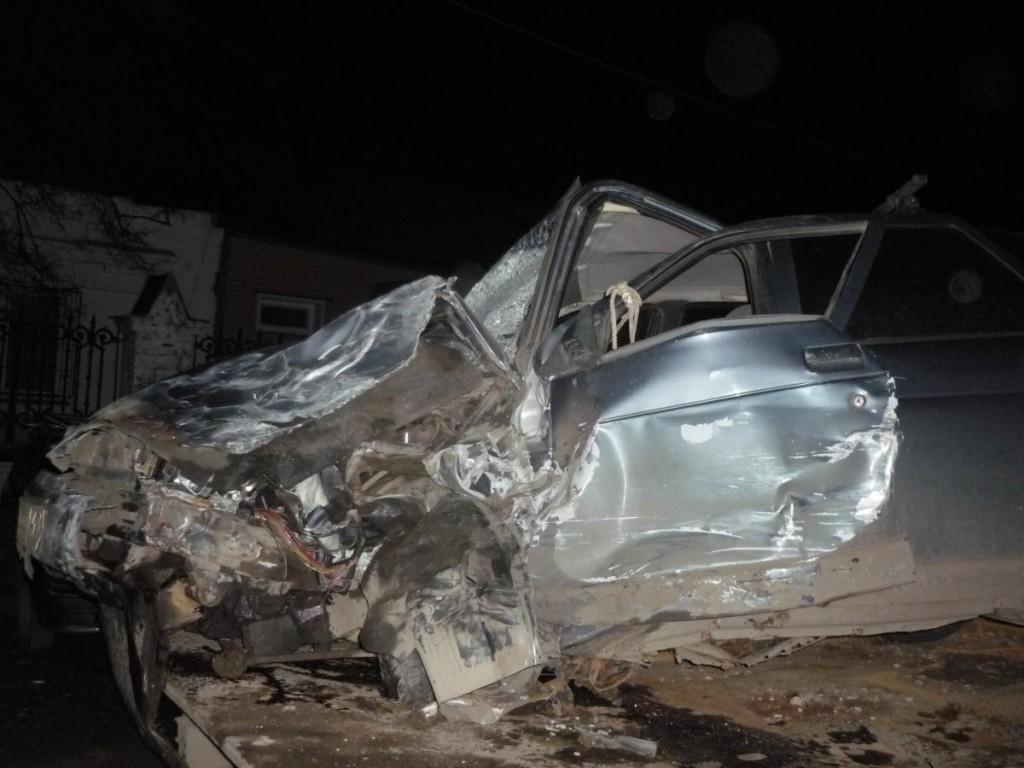 По вине пьяного водителя в Слободском районе столкнулись 4 автомобиля