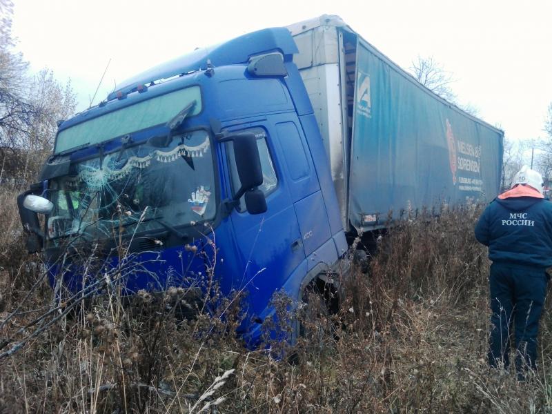 В Котельничском районе за рулем скончался водитель фуры