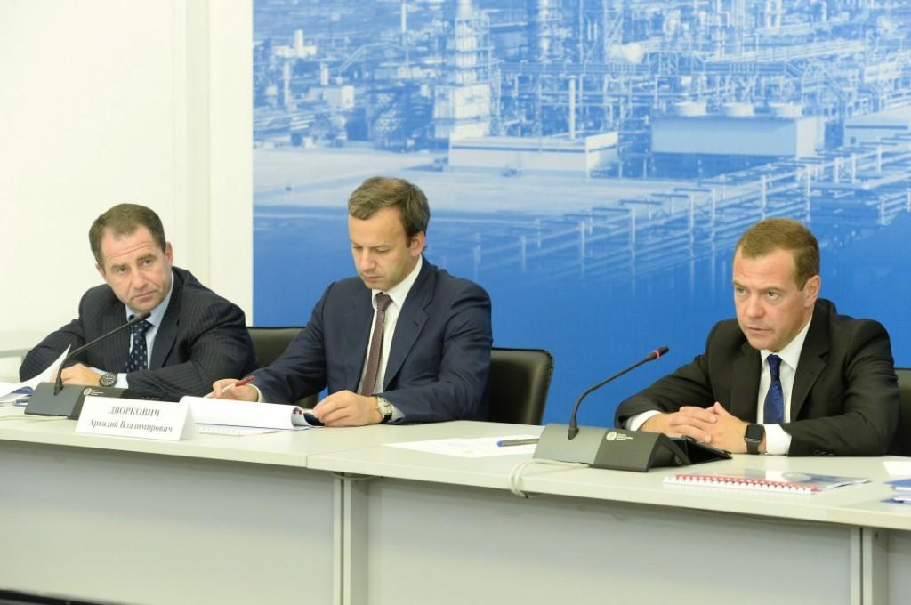 Михаил Бабич принял участие в совещании о модернизации нефтеперерабатывающих производств