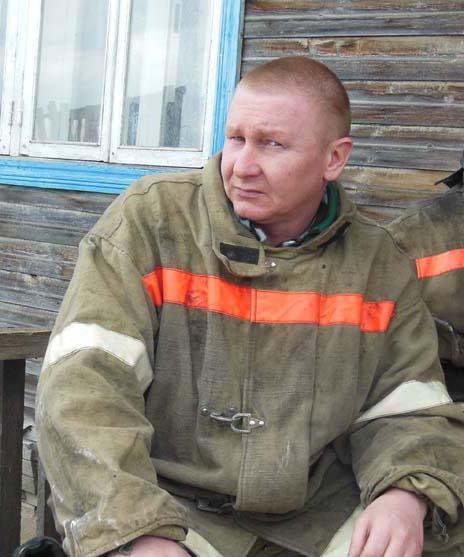 Кировский пожарный Алексей Горячевский награждён по Указу Президента