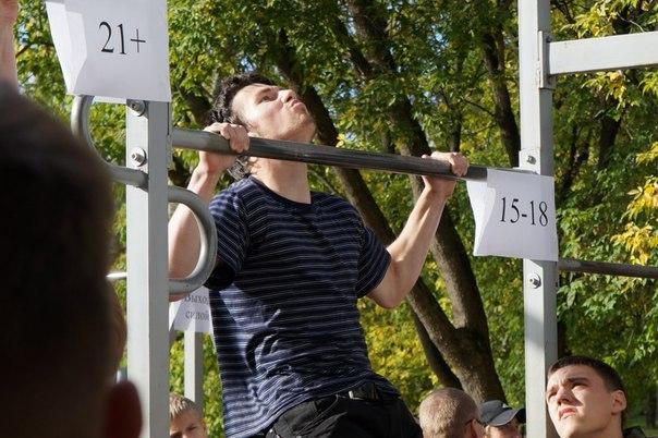 Кировские спортсмены подтянутся 2015 раз