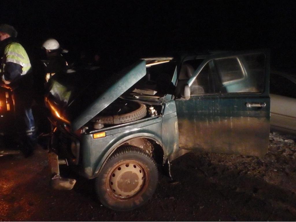 .В Кирово-Чепецком районе столкнулись 3 автомобиля
