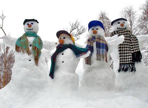 В Чистых Прудах пройдёт конкурс снеговиков